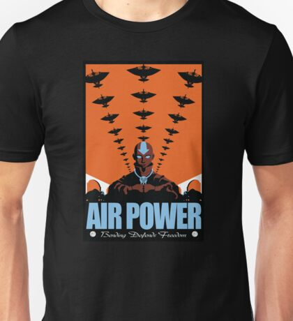 Air Power: Bending Defends Freedom T-Shirt