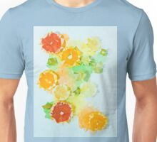 Triangulated citrus Unisex T-Shirt