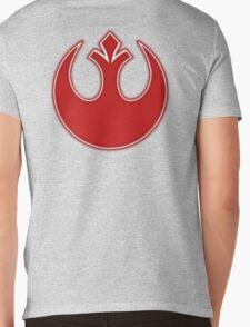 Rebel Alliance Neon Symbol Mens V-Neck T-Shirt