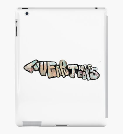Love art hate cops graffiti iPad Case/Skin