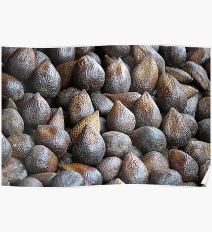 bunch of snake fruit Poster