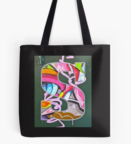 Urban Alphabet S Tote Bag