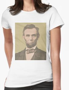 Lincoln - Gold Womens Fitted T-Shirt