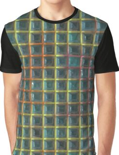 Square holes pattern Graphic T-Shirt