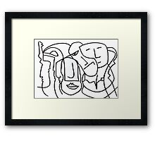 After Picasso 11 Framed Print