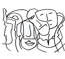 After Picasso B11 Photographic Print