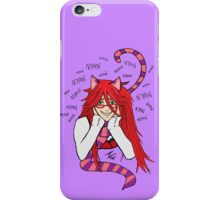Grell Cheshire Cat - Black Butler Fan Art iPhone Case/Skin