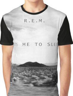 R.E.M. Puts Me to Sleep Graphic T-Shirt