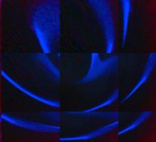 Blue Flames Sticker