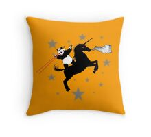 Creatures from the Interwebs Throw Pillow