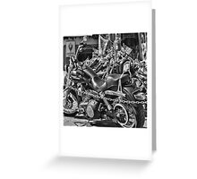 Biking - Harley Davidson Greeting Card