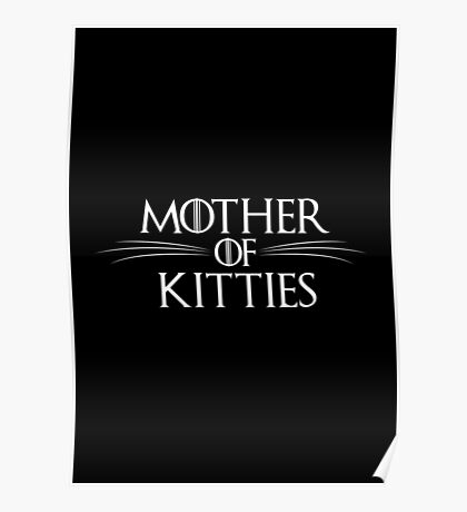 Mother Of Kitties Poster