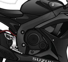 Suzuki GSX-R 600 2007 Black Sticker