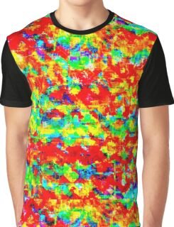 Mixed paint Graphic T-Shirt