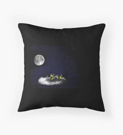On A Cloud Throw Pillow