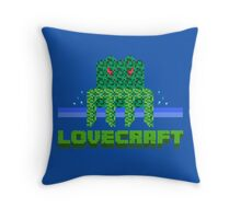 Lovecraft Minecraft Throw Pillow