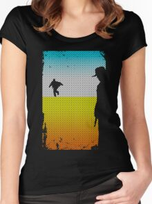 And The Gunslinger Followed Women's Fitted Scoop T-Shirt