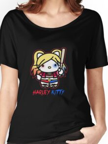 Harley Quinn - Harley Kitty Women's Relaxed Fit T-Shirt