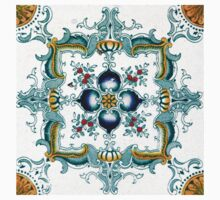 Art Nouveau Majolica Tile  by ernstc