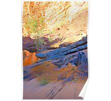 Hamersley Gorge HDR Poster