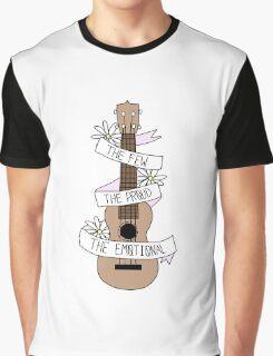 TOP Lyrics Ukulele {Requested} Graphic T-Shirt