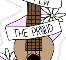 TOP Lyrics Ukulele {Requested} Sticker