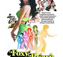 Foxy Brown (Colorful) by PulpBoutique