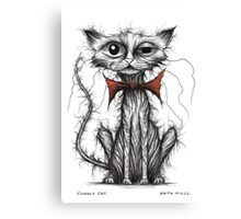 Cuddly cat Canvas Print