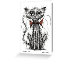Cuddly cat Greeting Card