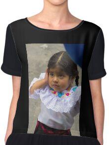 Cuenca Kids 775 Chiffon Top