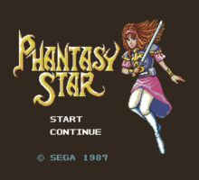 Phantasy Star (Genesis) Title Screen by AvalancheJared