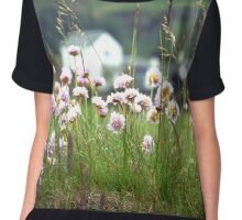 Landscape Scottish Countryside Scenic View  Chiffon Top