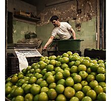 The Greengrocer #0101 Photographic Print