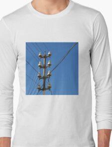 Telegraph Wires Long Sleeve T-Shirt