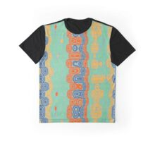 Distorted retro bubbles Graphic T-Shirt