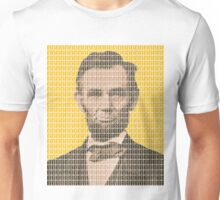 Lincoln - Yellow Unisex T-Shirt