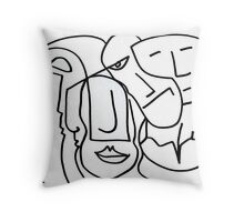 After Picasso B11 Throw Pillow