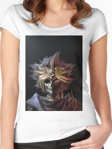 Yu-Gi-Oh! - Skeleton Women's Fitted Scoop T-Shirt