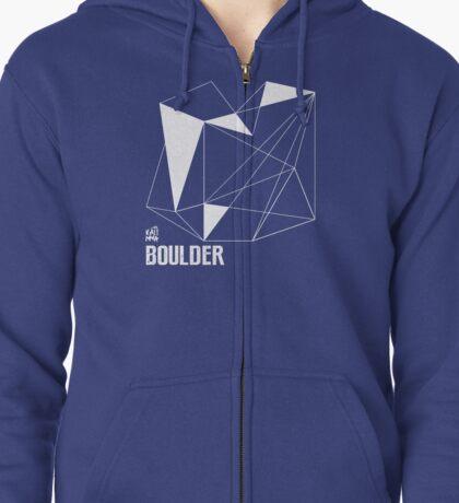 BOULDER Zipped Hoodie