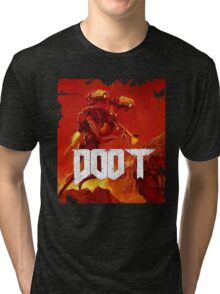 Doom Doot Tri-blend T-Shirt