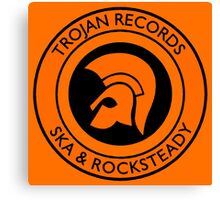 Trojan Records 10 Canvas Print