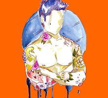 Watercolour tattoo. by Susanna Olmi