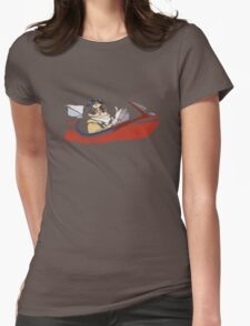 Porco Rosso Womens Fitted T-Shirt