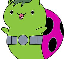 Beast Boy Catbug by redlolly