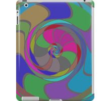 Colorful whirlpool iPad Case/Skin