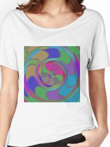 Colorful whirlpool Women's Relaxed Fit T-Shirt