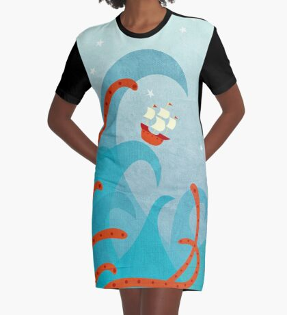 A Bad Day For Sailors Graphic T-Shirt Dress