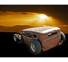 Rat Rod 'Shady Lady' Photographic Print