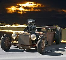 Rat Rod 'Junk Yard Dog' by DaveKoontz