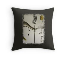 SOLD - SING ME AN OLD FASHIONED SONG! Throw Pillow